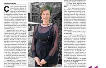 La Dra. Sophie Havighurst es entrevistada por el diario La Segunda acerca del programa