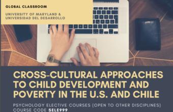 La Facultad de Psicología impartirá curso simultáneo con U. de Maryland sobre interculturalidad y pobreza a cargo de la Dra. Daniela Aldoney