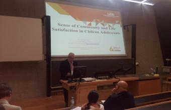 Investigador Dr. Jorge Varela expone representando al Cebcs en Isqols 2017, Austria