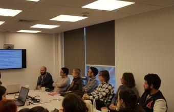 Estudiantes del DCDP participan de Labgroup dictado por docente de la U. de Harvard