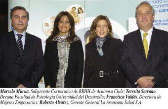 La Araucana y el Círculo Ejecutivo de RRHH realizan segundo encuentro Trabajo & Empresa