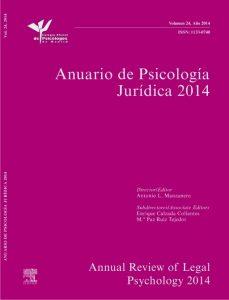 Anuario de Psicología Jurídica 2014