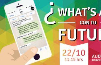 """Seminario """"¿What's App con tu futuro?"""
