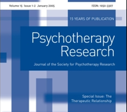 Revista Psychotherapy Research