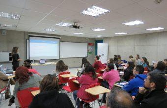 Exitoso taller entregó herramientas para facilitar el trabajo profesional con adolescentes
