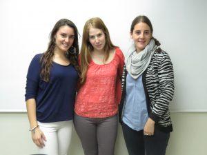 Estudiantes de Psicología que participan en el Proyecto