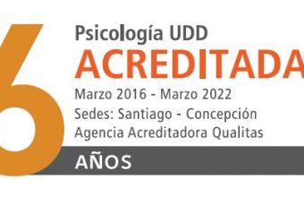 Psicología UDD obtuvo seis años de acreditación