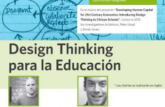 Investigador de Psicología UDD es parte de proyecto sobre Desing Thinking en escuelas chilenas