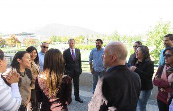 Delegación peruana valoró positivamente el programa académico de su misión de estudios en Chile