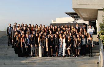 Psicología UDD celebró junto a una nueva generación de titulados en Santiago