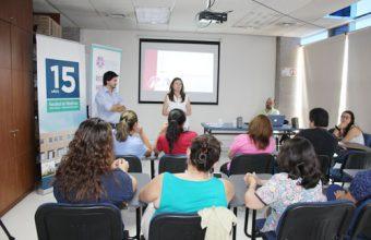 Exitoso taller sobre parejas fue dictado en el Hospital Padre Hurtado
