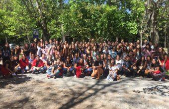 Psicología UDD Concepción dio la bienvenida a sus nuevos estudiantes con diversas actividades y paseo