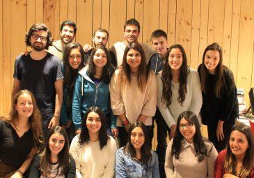 """Integrantes de equipo """"Mente"""" Concepción viajaron a UDD Santiago para reunirse con sus compañeros de voluntariado"""