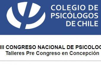 Talleres de Pre congreso nacional de Psicología tendrá lugar en UDD con expositores de nuestra carrera