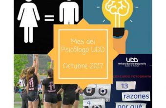 Participa de las actividades del Mes del Psicólogo UDD en Santiago