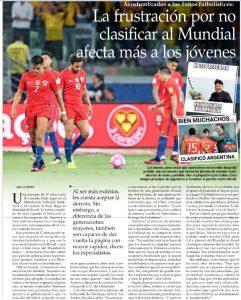 Facultad en la prensa- Marce Aravena en El Mercurio
