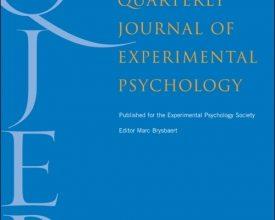 Dr. Gabriel Reyes publica en The Quarterly Journal of Experimental Psychology