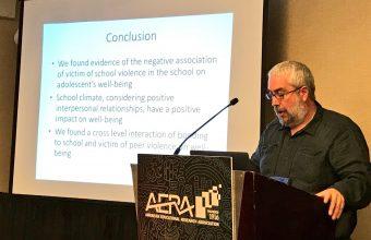 Dr. Varela expuso en conferencia sobre educación pública en Estados Unidos