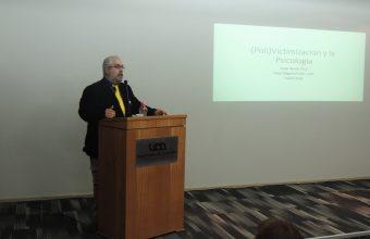 Dr. Jorge Varela dio inicio al año académico en Concepción con una charla sobre (poli) victimización y la psicología