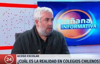 [Canal 24 Horas] Dr. Jorge Varela es entrevistado por el día mundial contra el Acoso Escolar