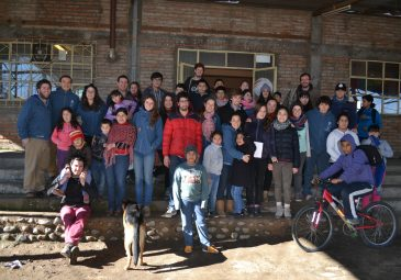 """Voluntariado """"Huella"""" llegará a Molina para compartir historias y restaurar capilla"""