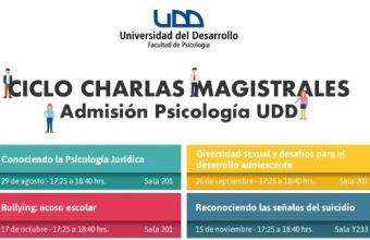 Admisión organiza ciclo de Clases Magistrales sobre Psicología