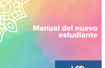 Conoce el Manual del nuevo estudiante de Psicología UDD Santiago