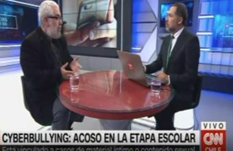 [CNN Chile] Dr. Jorge Varela es entrevistado por casos de ciberacoso