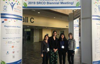 Investigadoras del CARE y estudiantes del DCDP participaron en Congreso de la Sociedad para la Investigación en Desarrollo Infantil en Estados Unidos