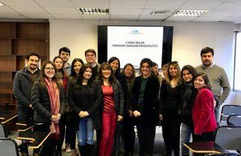 SPI Santiago realizó Taller de Primeros auxilios psicológicos en Corporación de Asistencia Judicial Valparaíso