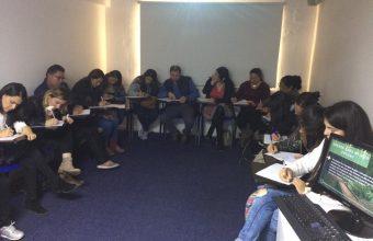 Practicantes SPI realizan taller a padres de niños con Trastorno del Espectro Autista
