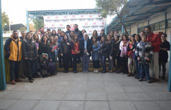 Dr. Jorge Varela dicta charla sobre acoso escolar en colegio de Peñalolén