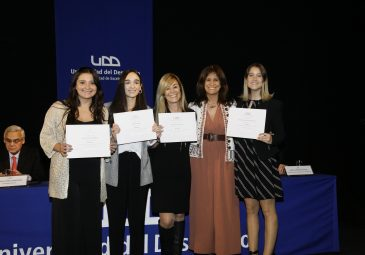 UDD destacó a sus profesores y estudiantes de excelencia 2018 en Santiago
