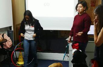 SPI Concepción realiza conversatorio sobre uso de perros asistentes y terapeutas