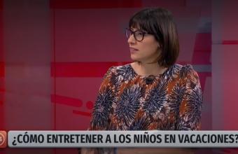 [Canal 24 horas] Dra. Daniela Aldoney es consultada sobre parentalidad durante vacaciones de invierno