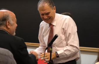 Premiación Dr. Luis Tapia Villanueva 2019- Ganador: Dr. Juan Pablo Jiménez