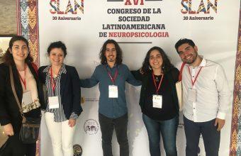 Estudiantes del DCDP presentan en XVI Congreso de la Sociedad Latinoamericana de Neuropsicología SLAN 2019