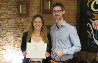 Profesores de Psicología son premiados en cena anual de camaradería