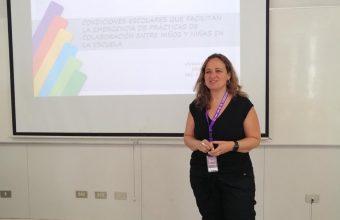 Directora del MPE expone en XIX versión de las Jornadas internacionales de Psicología Educacional