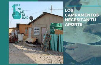 Estudiante de Psicología UDD participa en campaña de ayuda para campamentos